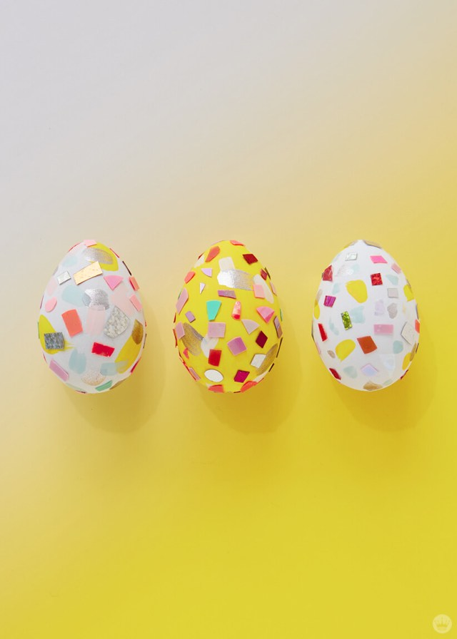 2019 Easter egg decorating ideas: Terrazzo-inspired eggs