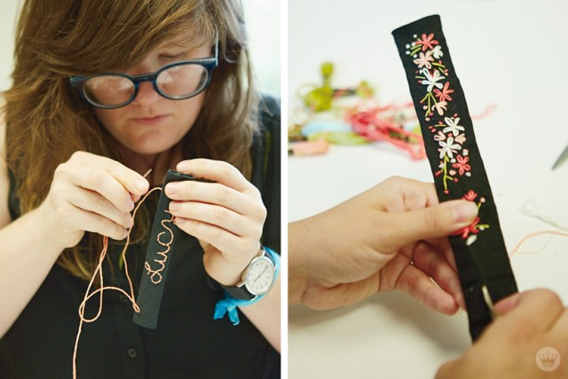 Embroidered Pet Collars | thinkmakeshareblog.com