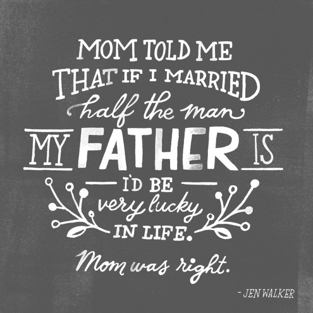 Father's Day tribute from Hallmark Trends Director Jen Walker | thinkmakeshareblog.com