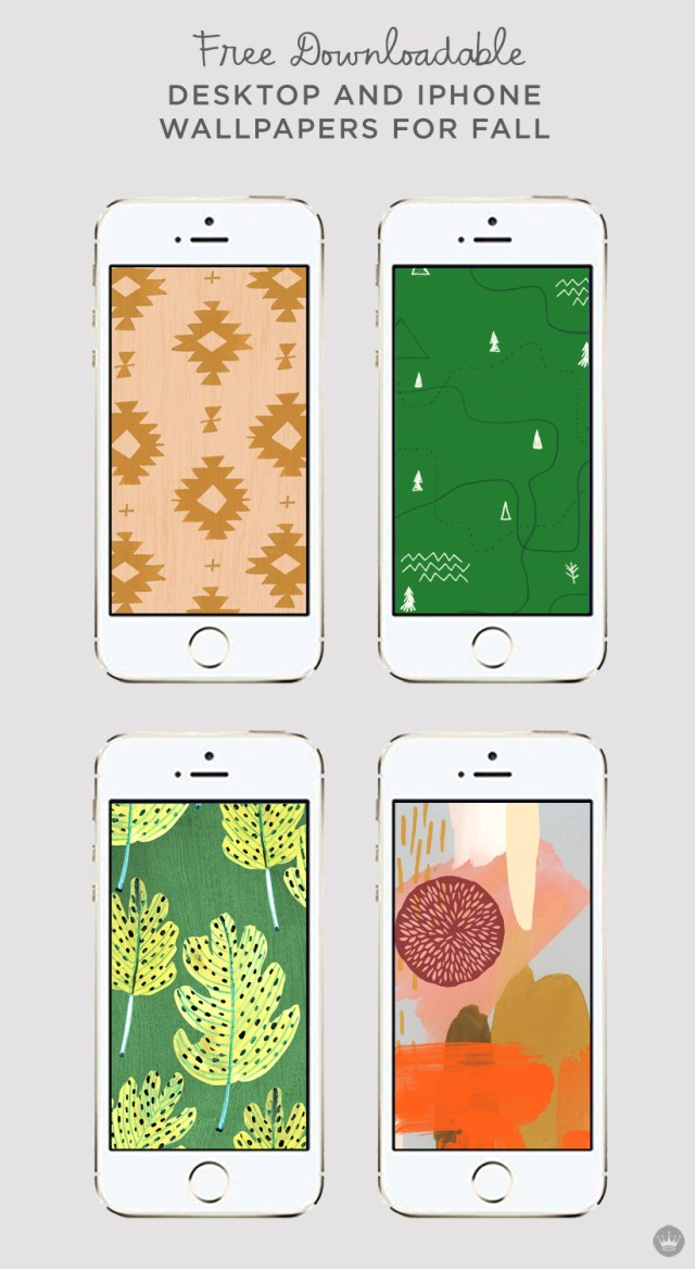 Free Downloadable iphone and desktop wallpapers for fall | thinkmakeshareblog.com