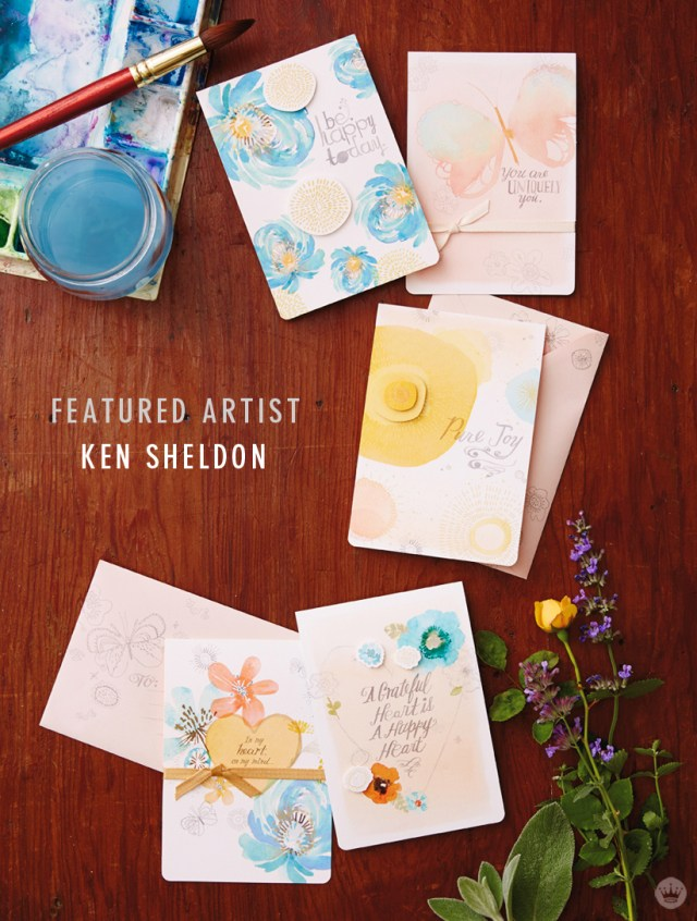 Hallmark Artist Spotlight on Ken Sheldon | thinkmakeshareblog.com