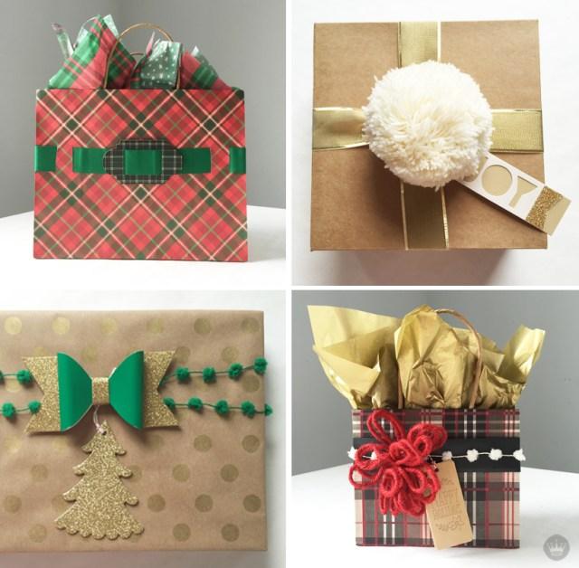 Hallmark DIY Maker Wrap Holiday Collection | thinkmakeshareblog.com