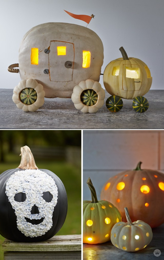 Hallmark Keepsake artists put their craft to work carving pumpkins | thinkmakeshareblog.com