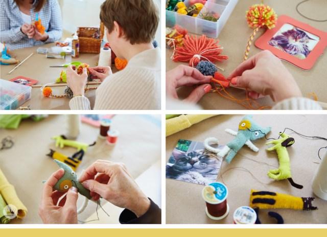 Hallmark artists share their handmade pet toys | thinkmakeshareblog.com