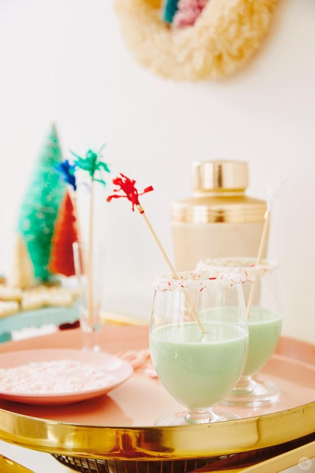 Hallmark Channel Christmas movie watch party recipes: Evergreen Cream cocktail