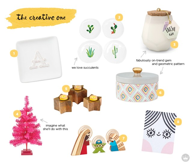 holiday hostess gift guide for the creative one