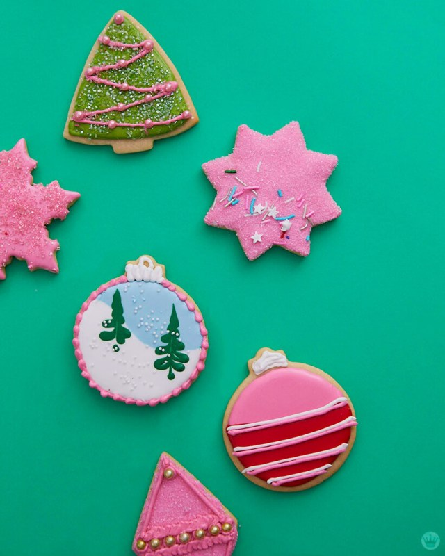 2018 cookie decorating trends: Decorated cookies