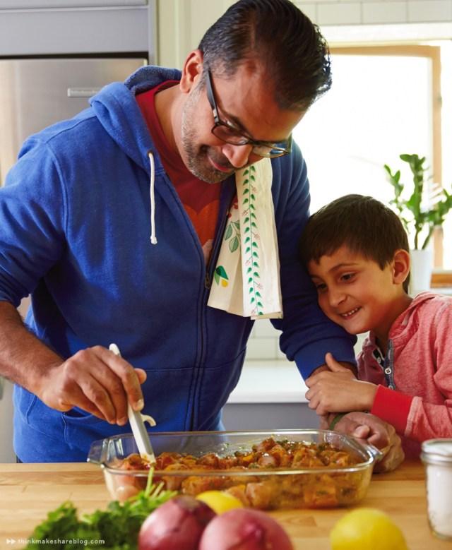 Indian Chicken Tikka Wraps | thinkmakeshareblog.com