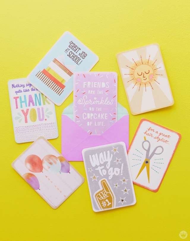 Hallmark's new Just Because cards