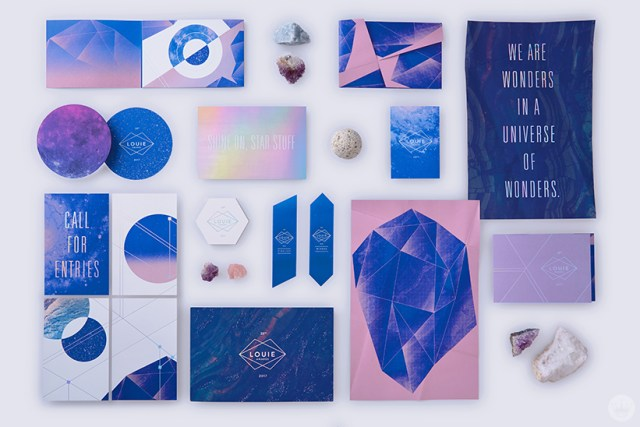 Materials for the 2017 Louie Awards show