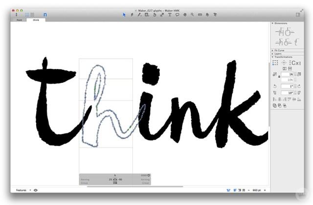 Maker Font | thinkmakeshareblog.com