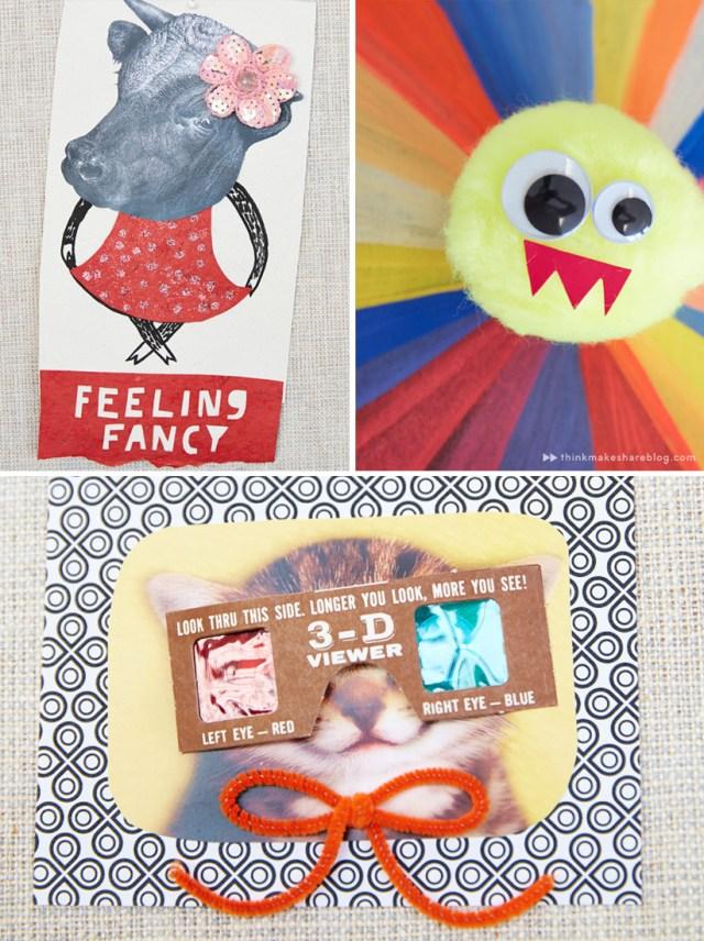 Making humor cards with Hallmark artists lead   thinkmakeshareblog.com