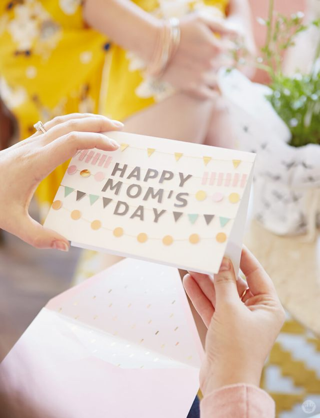 Happy Mom's Day Signature greeting card