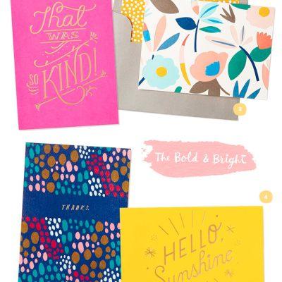Favorite stationery: four designs from Hallmark.com | thinkmakeshareblog.com