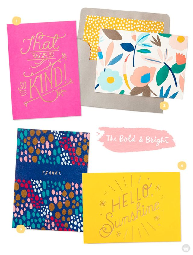 Favorite stationery: four designs from Hallmark.com | thinkmakeshareblog.com