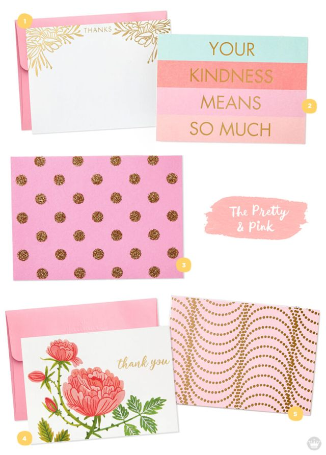 Favorite stationery: five designs from Hallmark.com | thinkmakeshareblog.com