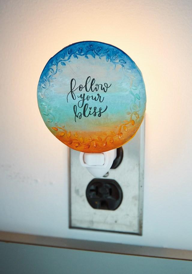 DIY nightlights: Follow your bliss design