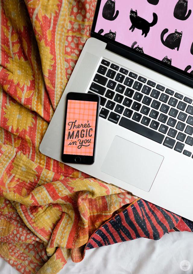 October Wallpapers | thinkmakeshareblog.com