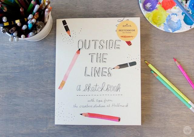 Outside the Lines Sketchbook   thinkmakeshareblog.com
