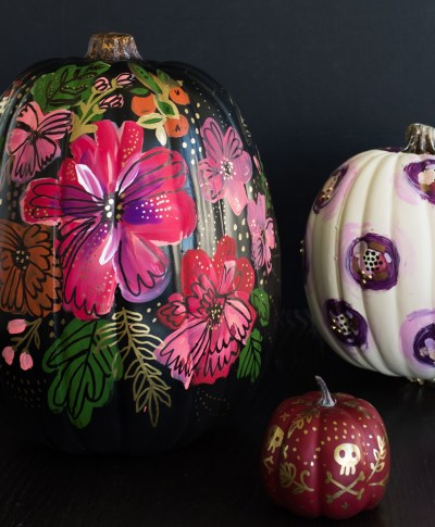 Pumpkin Painting | thinkmakeshareblog.com