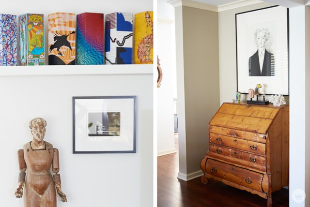 Robin's Home Tour and Art Collection | thinkmakeshareblog.com