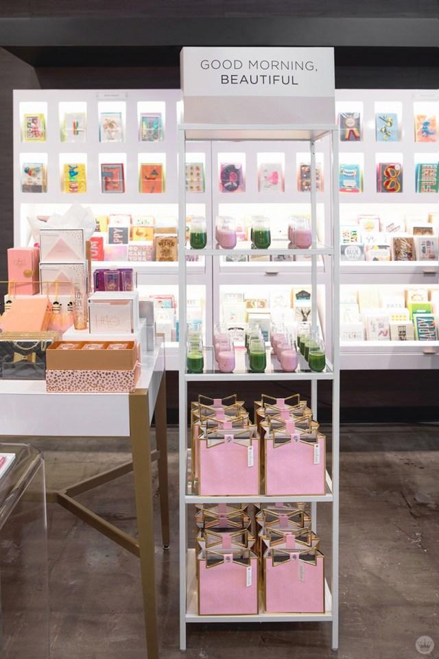 Display at the new Hallmark Signature Store in Santa Monica, CA