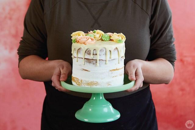 Spring Cake Workshop | thinkmakeshareblog.com