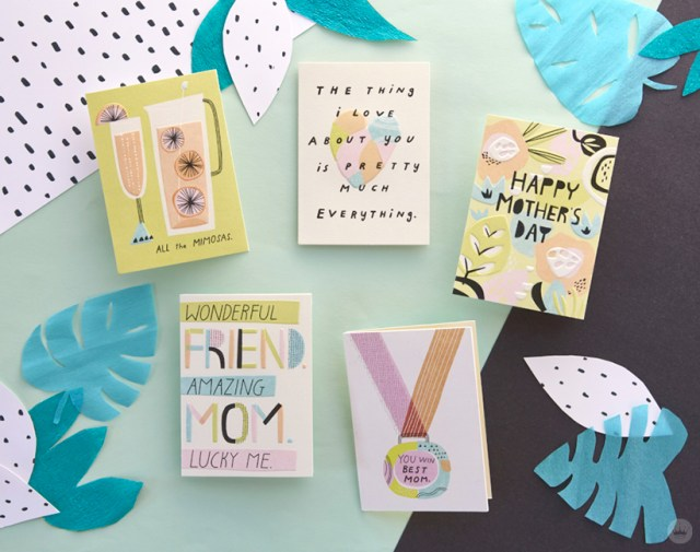 Studio Ink Mother's Day greeting card collection | thinkmakeshareblog.com