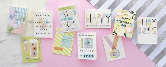 Cartes de voeux de la collection Fête des mères de Studio Ink