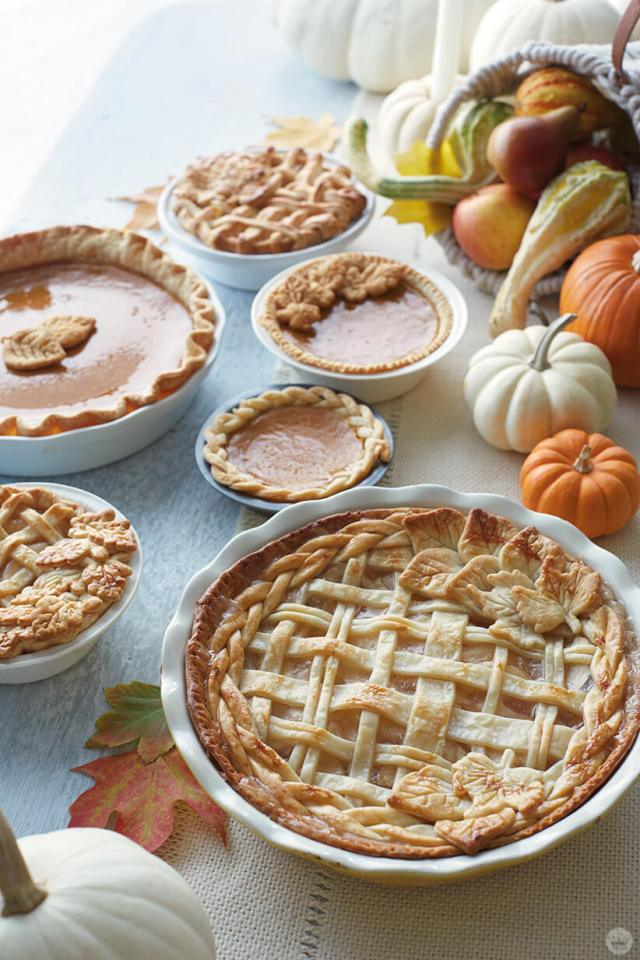 Thanksgiving and Friendsgiving ideas: pies and more pies