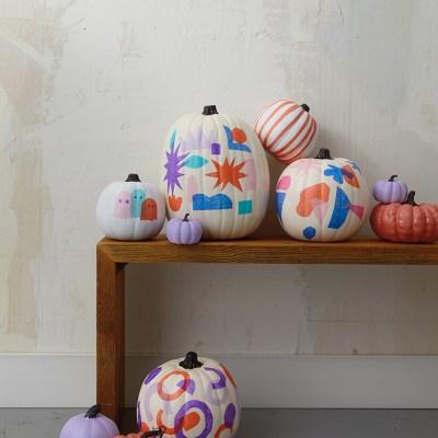 Tissue paper pumpkins | thinkmakeshareblog.com