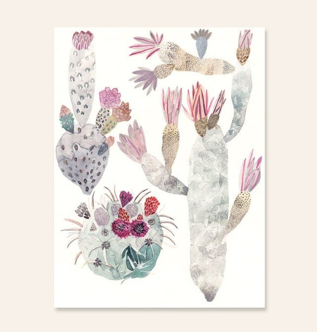 Cactus Trio by Michelle Morin | thinkmakeshareblog.com