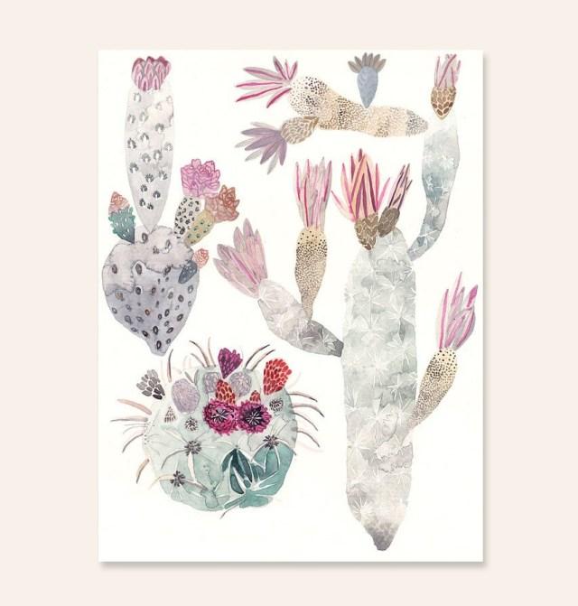 Cactus Trio by Michelle Morin | thinkmakeshareblog.com