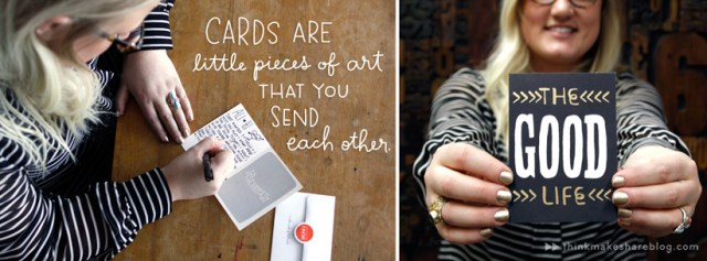 Send a card just because! | thinkmakeshareblog
