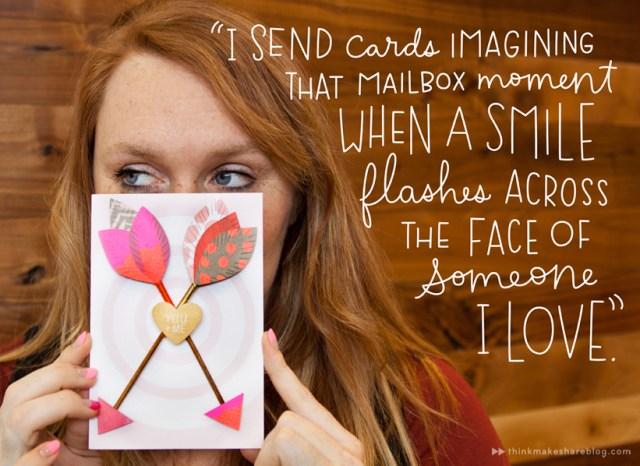 Send a card just because!   thinkmakeshareblog.com