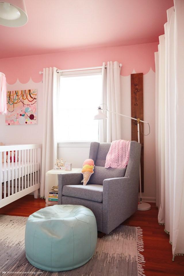 Hallmark designer Laura Linebarger gives us a tour of her daughter's nursery   thinkmakeshareblog