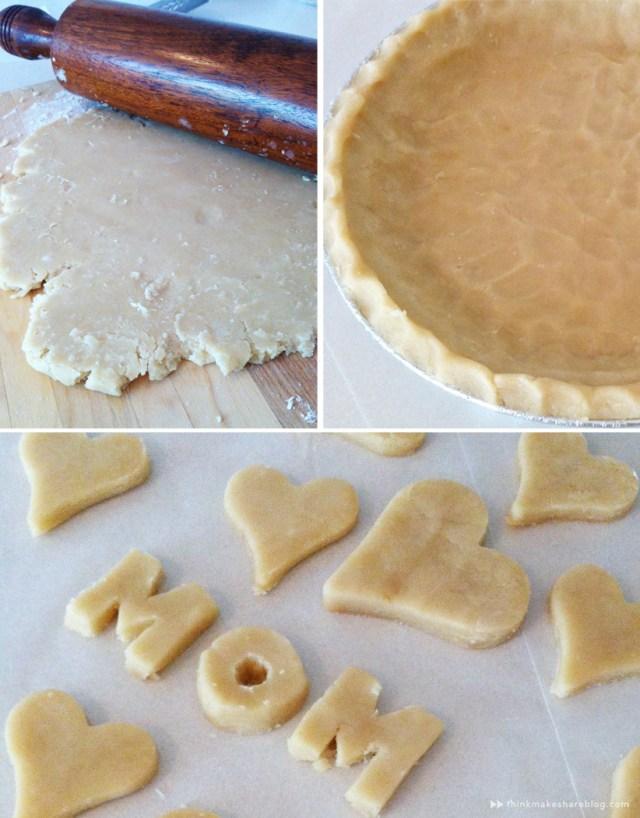 making strawberry pie for Mom with Hallmarker Stephanie Young   thinkmakeshareblog.com