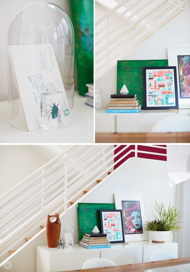 tips for organizing and decorating for a small space | thinkmakeshareblog.com