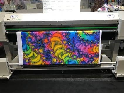 Printing on Cotton Fabric - wide format printing