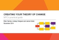 Creating your theory of change: NPC's practical guide