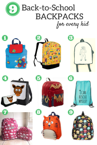 Kids' Backpacks for Back-to-School: Every Kid Will Love One!