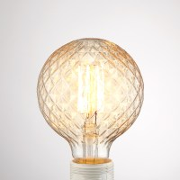 Globe Edison Retro Vintage Light Bulb Round Ball Lamp