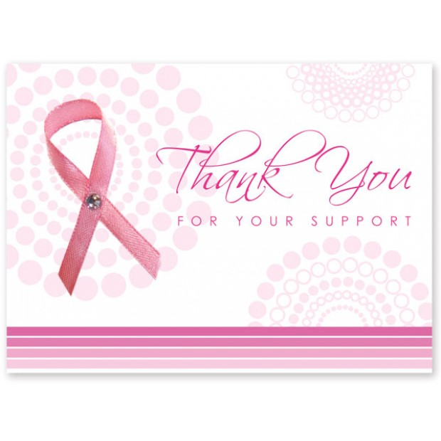 breast cancer thank you