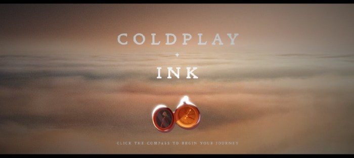 Thinkplace - strategie applicate - coldplay ink