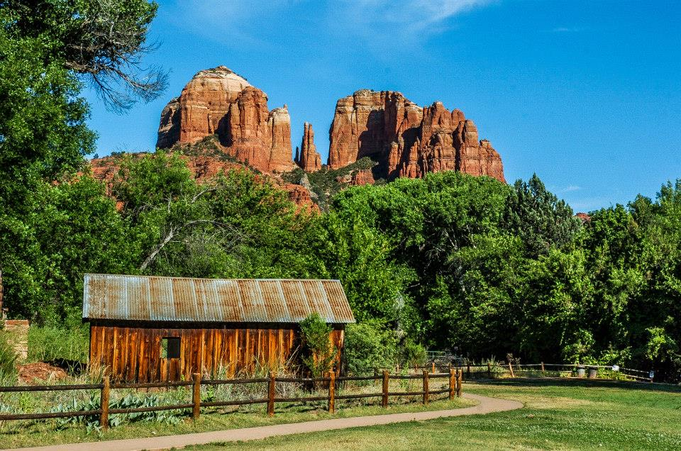 On one of our trips to Sedona, AZ | Photograph by Steve Adcock :)