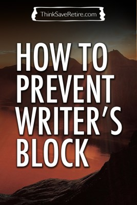 How to prevent writer's block