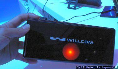 Atomを搭載したWillcomの端末