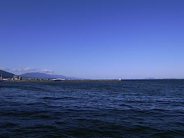 琵琶湖湖西側