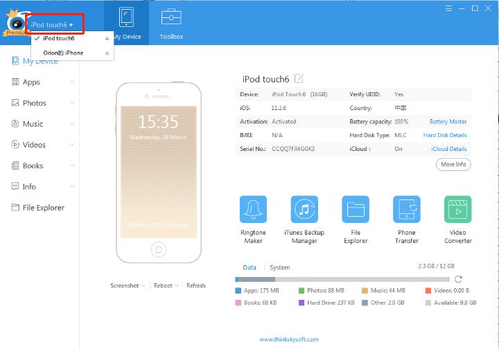 wat te doen als iTools iOS device11 niet detecteert