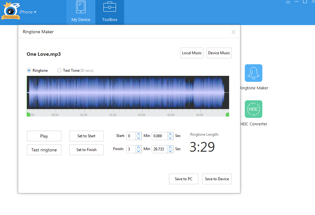 Personalizza le suonerie con i brani preferiti4